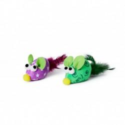 BUD Z CHAT JOUET EN JARRE SOURIS COULEURS VARIEES BUDZ Toys