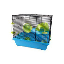Cage LW pour hamsters nains, Pad, 42,5 x 31 x 37 LIVING WORLD Equipped Cages