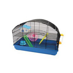 Cage LW pour hamsters nains, Villa, 58 x 32 x 41 cm (22,8 x
