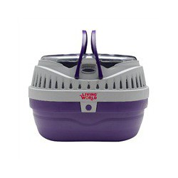 LW Carrier, Small, Purple/Grey