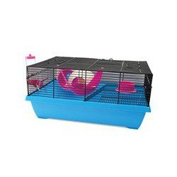 Cage LW pour hamsters nains, Hangout, 51 x 36,5 x 23,5 cm (