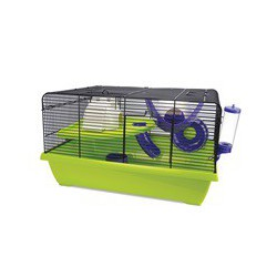 Cage LW pour hamsters nains, Resort, 51 x 36,5 x LIVING WORLD Equipped Cages