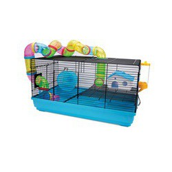 Cage LW pour hamsters nains, Playhouse, 58 x 32 x LIVING WORLD Equipped Cages