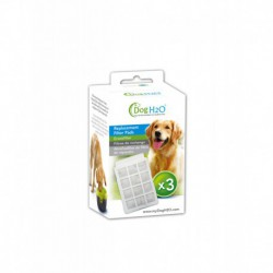 H2O REPLACEMENT FILTERS FOR DRINKING FOUNTAINS DOG/CAT PK 3