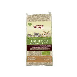 Living World Pine Shavings 20L-V