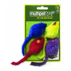 MULTIPET Multi-Colored Mice - 4pk. - 2