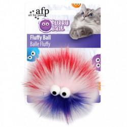 AFP Furry Ball Fluffy Ball, Red - 2804