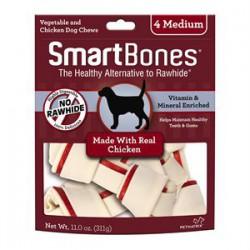 Spectrum Os à Mâcher « Smart Bones » Poulet Moyen 4 MCX