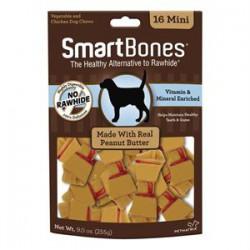 Spectrum Os à Mâcher « Smart Bones » Beurre d Arachides Mini
