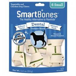 Spectrum Os à Mâcher « Smart Bones » Dentaires Petit 6 MCX