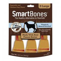 Spectrum Os à Mâcher « Smart Bones » Beurre d Arachides Gran