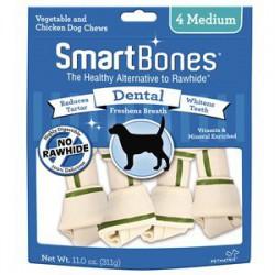 Spectrum Os à Mâcher « Smart Bones » Dentaires Medium 4 MCX