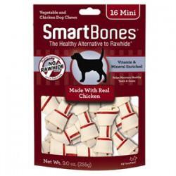 Spectrum Os à Mâcher « Smart Bones » Poulet Mini 16 MCX
