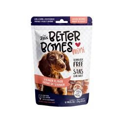 Os Better Bones enrobés de poulet, arôme de saumon, mini, 7,