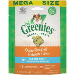 Greenies Chicken complete Dental Treat for cats 4,6 oz