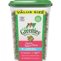 Greenies Salmon complete Dental Treat for cats 9,75 oz