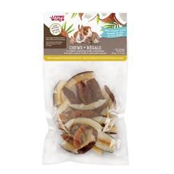 Régals LW pour petits animaux, tranches de noix de coco séch