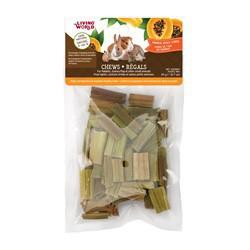 Régals LW pour petits animaux, cubes de tige de papaye, 20g