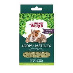 Régals LW pour petits animaux, pastilles, arôme de pois, 75
