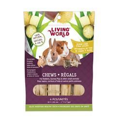 Régals LW pour petits animaux, tige de canne à sucre, 30 x 1