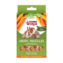 Régals  LW pour pet animaux, pastilles, carotte, 7