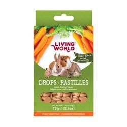Régals LW pour petits animaux, pastilles, arôme de carotte,