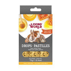 Régals LW pour petits animaux, pastilles, arôme de miel, 75