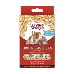 Régals LW pour petits animaux, pastilles, arôme d'arachide,