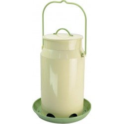 Milk Pail Hopper Feeder