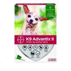 K9 ADVANTIX II S DOG 6DSX X 0.4ml
