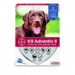 K9 ADVANTIX II X DOG 6DSX X 4,0ml