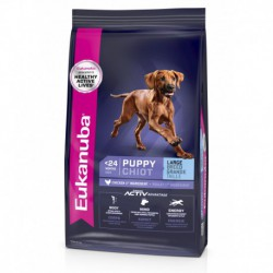 EUK. PUPPY LARGE BREED / EUK. LARGE CHIOT  33 lb15 kg EUKANUBA Nourritures Sèches