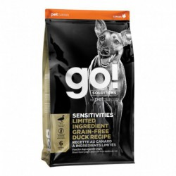 GO! CHIEN SENSITIVITIES LID SANS GRAINS CANARD 22 LBS