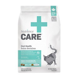 Soins dentaires* Nutrience Care pour chats, 1,5 kg