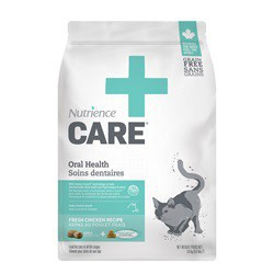Soins dentaires* Nutrience Care pour chats, 3,8 kg