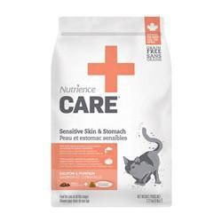 Peau et estomac sensibles Nutrience Care pour chats, 2,27 kg