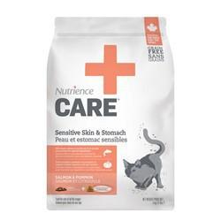 Peau et estomac sensibles Nutrience Care pour chats, 5 kg