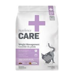 Contrôle du poids Nutrience Care pour chats, 5 kg