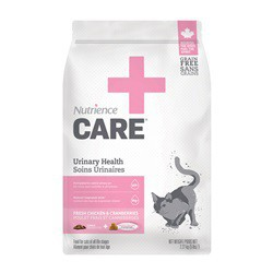 Soins urinaires Nutrience Care pour chats, 2,27 kg
