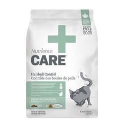 Contrôle des boules de poils Nutrience Care pour chats, 5 kg