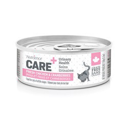 Soins urinaires Nutrience Care pour chats, 156 g