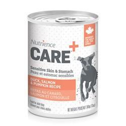 Peau et estomac sensibles Nutrience Care pour chiens, 369 g