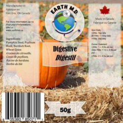 Earth MD Digestive Supplement - 50g EARTH MD Produits Traitements