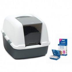Catit Magic Blue Litter Box, Jumbo