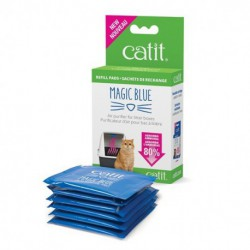 Sachets rechange p.cart.MagicBlueCatit