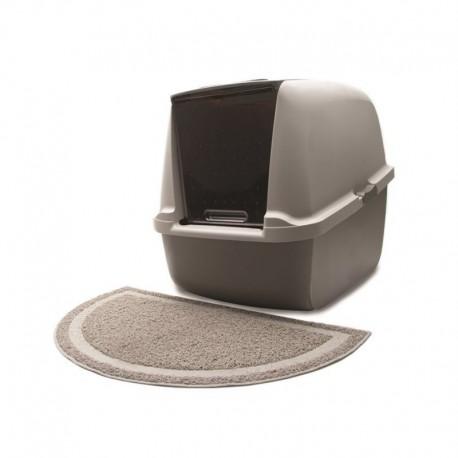 Carpette attrape-litière Catit, grise