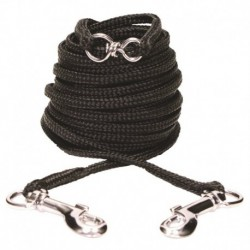 CA Nyl. Tie-out, 3m (10 ft), Black-V