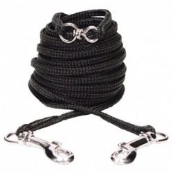 Câble d attache Catit/nylon, 6 m, noir-V CATIT Laisses Et Colliers