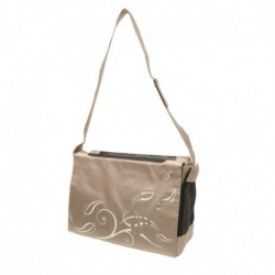 DOSt.Nyl. Messenger Bag, Butrfly Beige-V
