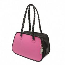 DOSt.Faux Suede Rndd Tote Bag, Pink DOGIT Sacs De Transport
